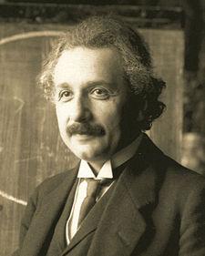Albert Einstein, 1921. aastal. Pilt pärit Wikipeediast