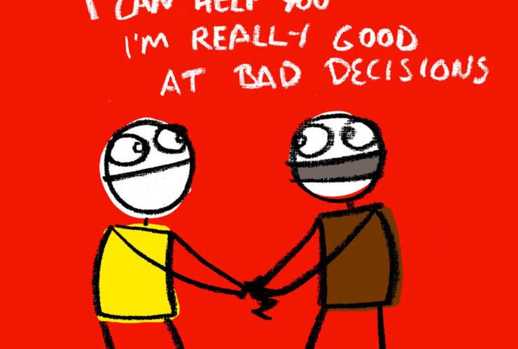 Irratsionaalne kiindumus halbadesse otsustesse