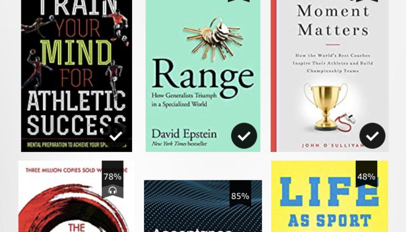 9 head raamatut sportlasele